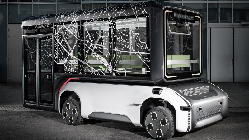 German space agency designs an autonomous mobility concept for Earth
