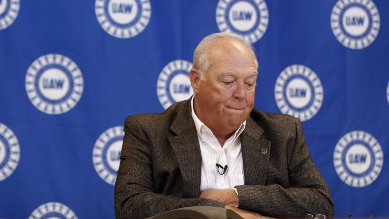 Former UAW President Williams pleads guilty to embezzlement
