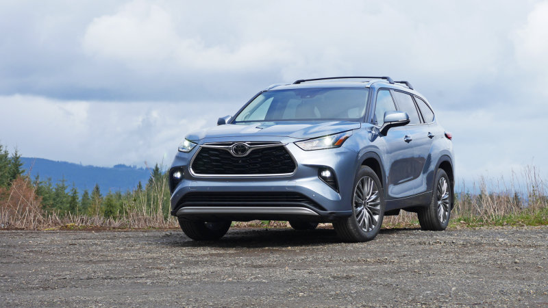 2020 Toyota Highlander recalled for airbag fault