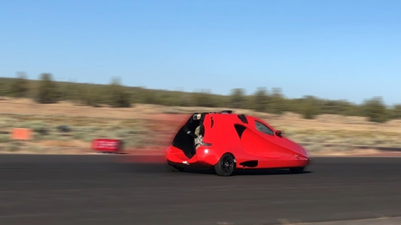 The latest flying car prototype undergoes runway testing