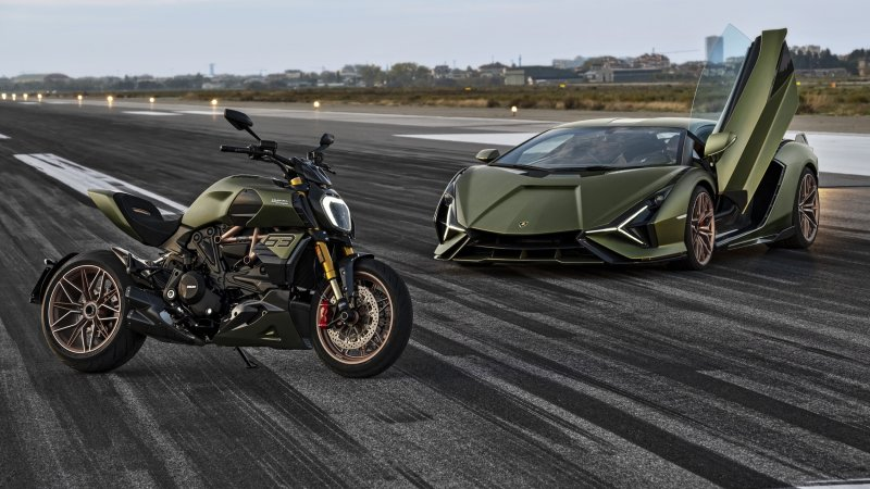 Limited-edition 2021 Ducati 1260 Diavel Lamborghini unveiled